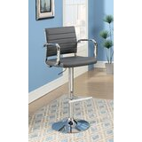 Northpoint Swivel Adjustable Height Bar Stool by Orren Ellis