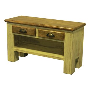 The Urban Port Porter Wood Storage Bench