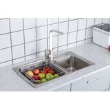 Expandable Stainless Steel Dish Rack