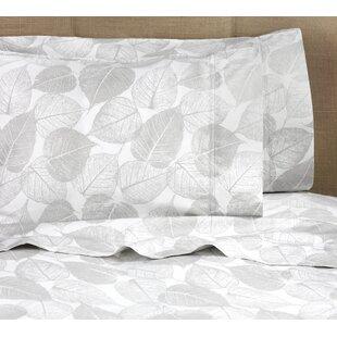 Bateson Shadow Leaf 400 Thread Count 100% Cotton Sheet Set
