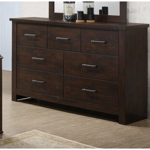 Forst 7 Drawer Double Dresser