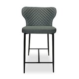 Breen Quilted 39.5 Bar Stool (Set of 2) by 17 Stories