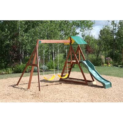 Swing N Slide Orbiter Swing Set Reviews Wayfair