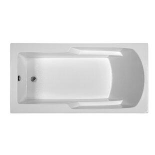 Reliance 65.75 inch  x 33.75 inch  Soaking Bathtub