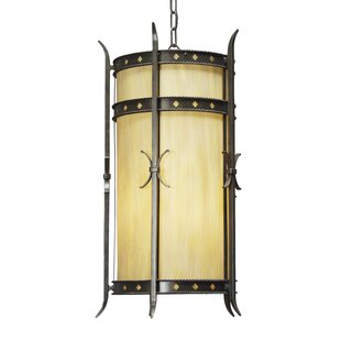 Stanza 4-Light Foyer Cylinder by 2nd Ave Design