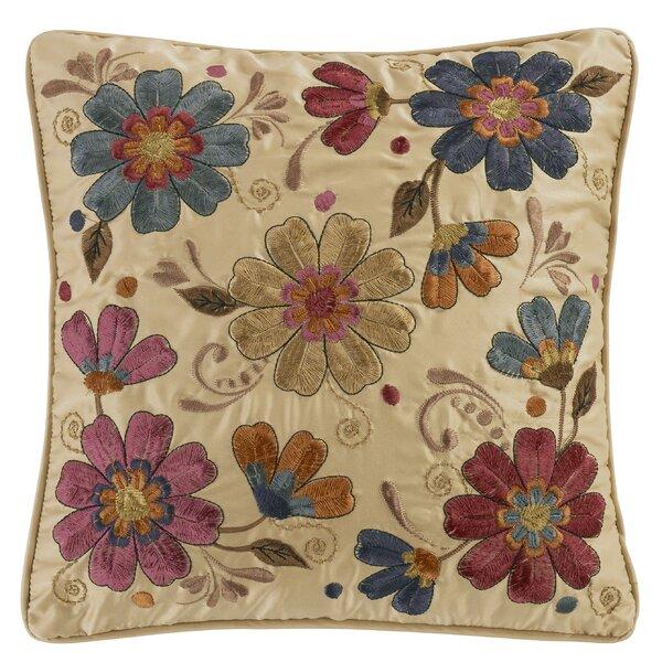 Navy Floral Pillow Wayfair