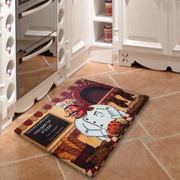 Chef Direct Printing Anti Fatigue Kitchen Mat
