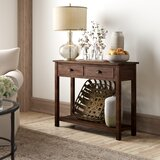 Timmie 38.75 Console Table by Three Posts™