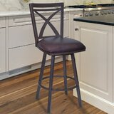Bonnett Modern 30 Swivel Bar Stool by Orren Ellis