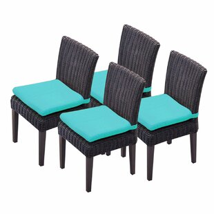 Venice Patio Dining Chair with Cushion (Set of 4)