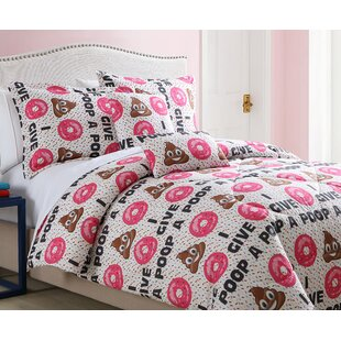 Colstrip Emoji Comforter Set