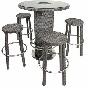 4-Sitzer Bartisch-Set von Kampen Living