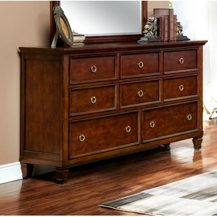 Jarvis 8 Drawer Double Dresser