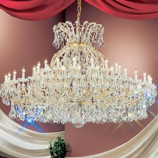 Classic Lighting Maria Thersea 49-Light Empire Chandelier