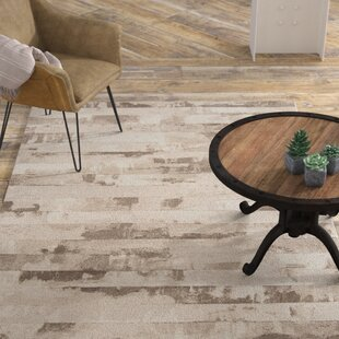 Best Reviews Chamlee White/Cream Area Rug By 17 Stories
