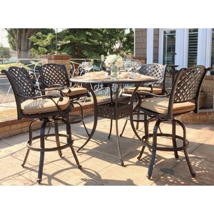 Darby Home Co Beadle 5 Piece Bar Height D..