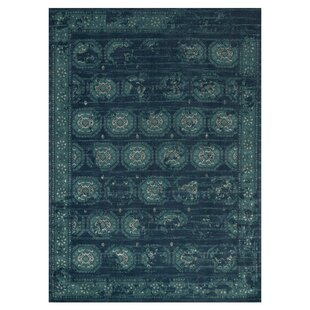 Durdham Park Navy/Blue Area Rug byDarby Home Co