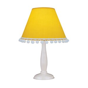 yellow shade table lamps you'll love | wayfair