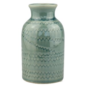 Vincent Turquoise Table Vase