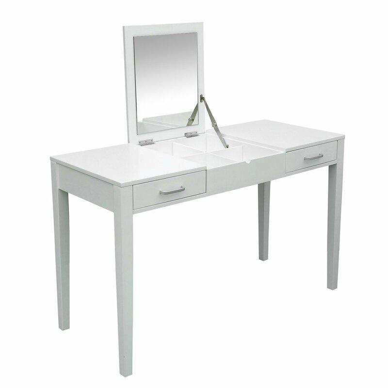 Haydel Dressing Table With Mirror