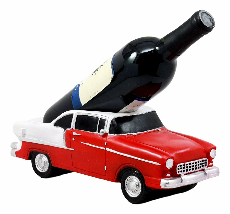 Winston Porter Bisbee Auto Car 1 Bottle Tabletop Wine Bottle Rack Wayfair