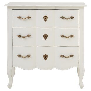 Aimee 3 Drawer Chest By Lily Manor