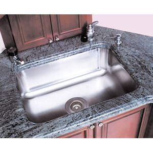 A-Line by Advance Tabco Single Bowl Undermount Prep Sink