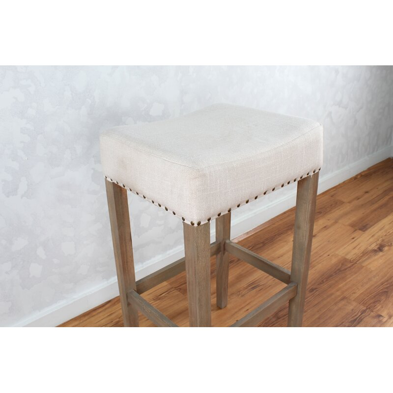 "Bertina Fabric 30"" Bar Stool"