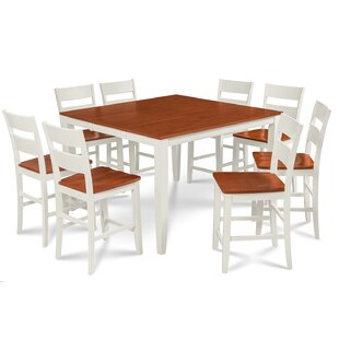 Charlestown 9 Piece Counter Height Solid Wood Dining Set Looking for