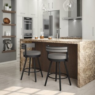 Traci 30 Swivel Bar Stool Brayden Studio