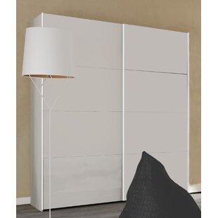 Blocco 2 Door Sliding Wardrobe By Ebern Designs