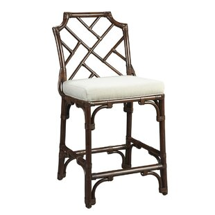 New Classics Chippendale 26 Counter Height Stool Kenian