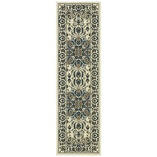 Meador Traditional Ivory Indoor/Outdoor Area Rug