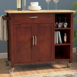 Huey Kitchen Cart by Darby Home Co