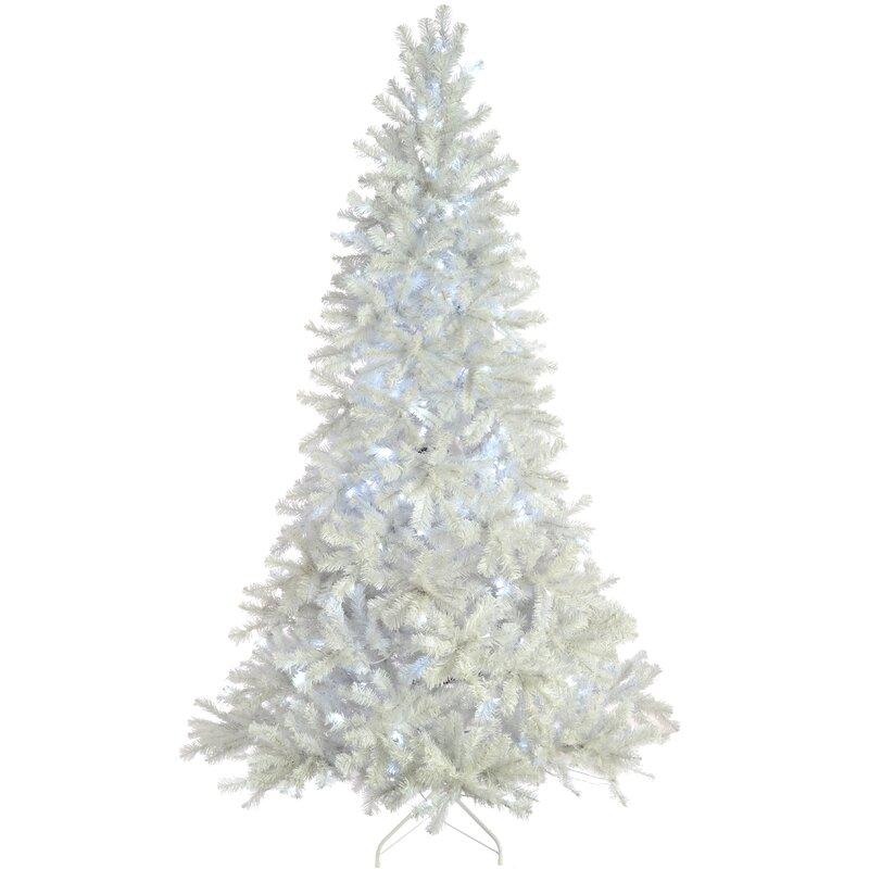 8ft Christmas Tree Pre Lit: Mail Order Online Ltd Pre-Lit Deluxe 8ft White Pine
