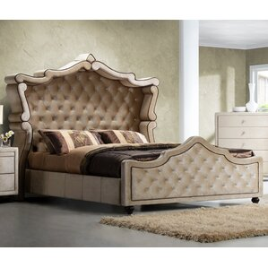 Sweeney Upholstered Panel Bed by Rosdorf Park
