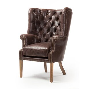 Canora Grey Levitt Wingback Chair
