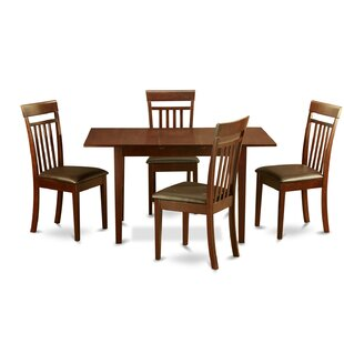 Three Posts Phoenixville 5 Piece Extendable Dining Set