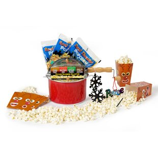 192 Oz. 9 Piece Holiday Popcorn Featuring the Limited Edition Holiday Whirley Pop Set