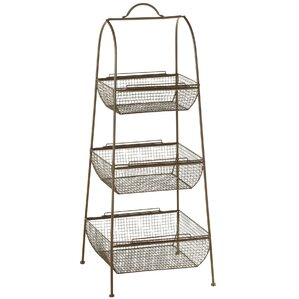 Haddon 3 Tier Basket On Tired Stand