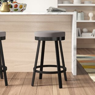 Dealba 26 Swivel Bar Stool by Brayden Studio