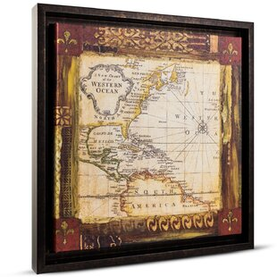 World map push pin wayfair old world map painting print on canvas gumiabroncs Image collections