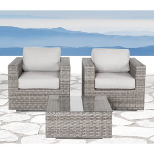 Vardin 3 Piece Conversation Set with Cushions