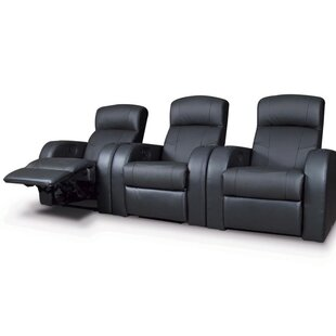 Latitude Run Selevae Home Theater Sofa