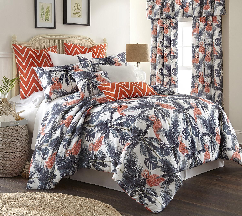 Flamingo Bird Paradise Cotton Rich Single Duvet Cover Bedding Set