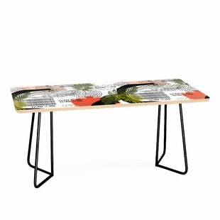 Nature Abstract with Strokes Coffee Table by East Urban Home