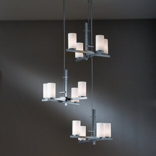 Ondrian 12-Light Cluster Pendant by Hubbardton Forge