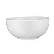 Pure White Porcelain Side Bowls Rice Bowls Salad Bowls Dishes 20cm 8 Inch