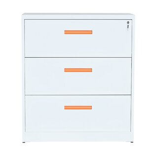 Affordable Glover 3-Drawer Lateral Filing Cabinet by Rebrilliant