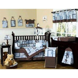 Geo 9 Piece Crib Bedding Set
